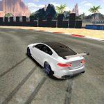 Urheiluauto drift