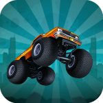 Zombie Monster Truck Game Game 2D