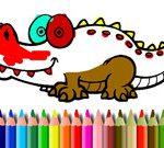 Mewarnai Bts Aligator