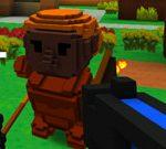 Forest City Battle In Online Minecraft