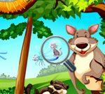 Animali nascosti nella giungla