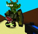 Minecraft Maze Battle Royale