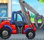 Fabrika e kamionëve për fëmijë
