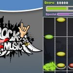 Rock mūzika (Guitar Hero Style)