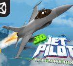 3D Jet Pilot Flight Simulator