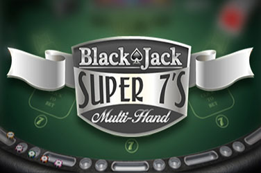 Blackjack super 7s daugialypis