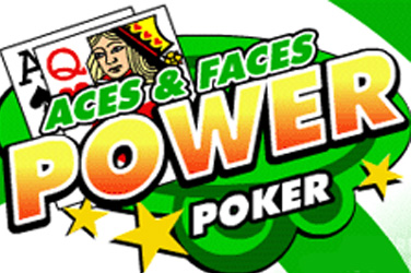 Aces und Faces 4 spielen Power Poker