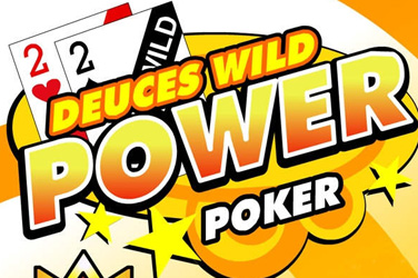 Deuces wild 4 juega power poker