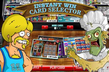 即時勝利カードセレクター
