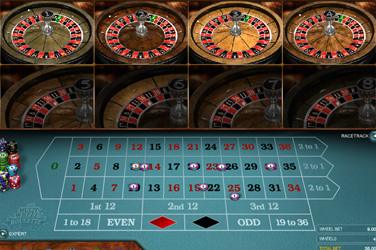 Roue multi roulette en or