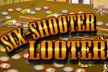 Six shooter plunderaar goud