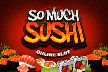 Så mycket sushi
