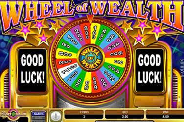 Spektakulärt hjul av rikedom