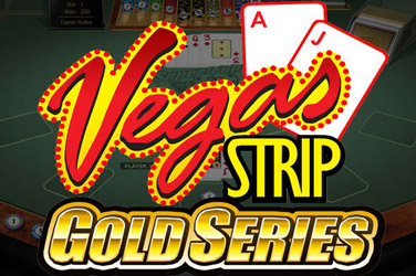 Vegas Stripp Blackjack Gold