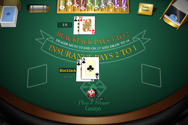 Blackjack europeo mh