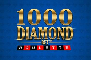 Ruleta de apuestas de diamantes 1000