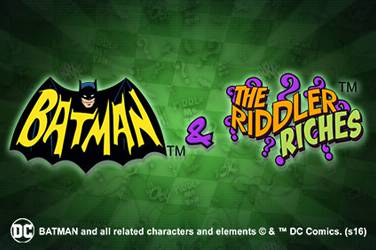 Batman og riddler rikdom