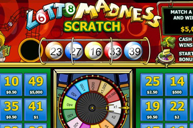 ʻO Lotto madness scratch