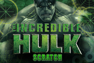 L'incroyable hulk scratch