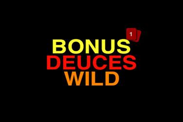 Bonus deuces laukinis