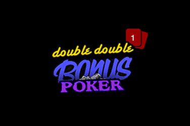 Double double poker bonus