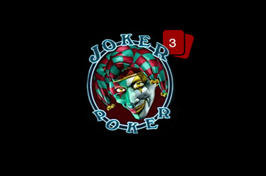 Joker pokerida 3 qo'l
