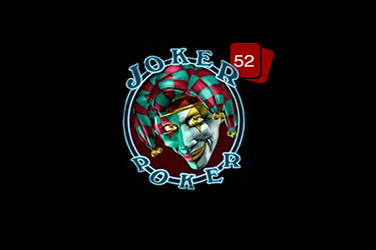 Joker poker mâna 52