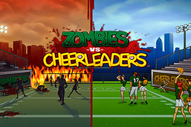 Zombie versus cheerleader