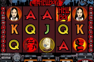 Image result for Hellboy slot big win