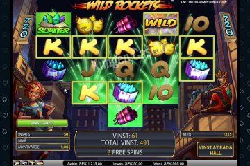 Risultato dell'immagine per la vincita della slot Wild Rockets