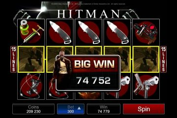 Image result for Hitman slot big win