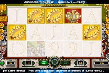 Bildresultat för Victorious slot big win