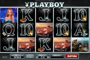 Image result for playboy slot big win