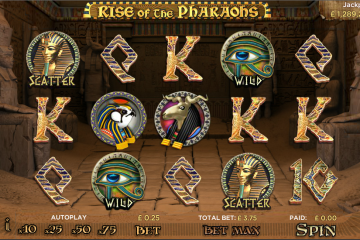 Image result for Rise of the pharaohs slot