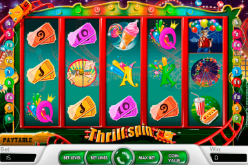 Beeldresultaat voor Thrill Spins-slot