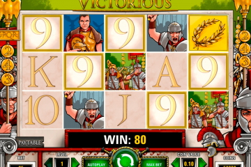 Bilderesultat for Victorious slot big win