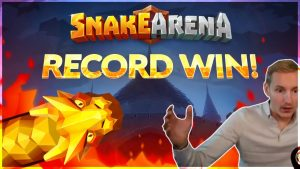 RECORD WIN! Snake Arena Big win – HUGE WIN – NEW SLOT Bonus Buy from Casinodaddy Live Stream
