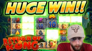 HUGE WIN!! Return of Kong BIG WIN – Online slots from Casinodaddy LIVE Stream