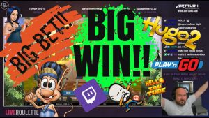 Big Bet!! Big Win From Hugo 2 Slot!!