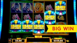 Tarzan Grand Slot - 5-SYMBOL-TRIGGER - GROSSER GEWINN-BONUS!