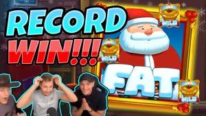 GHI CHIẾN THẮNG! Fat Santa BIG WIN - MEGA WIN trên sòng bạc từ CasinoDaddy