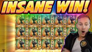 INSANE WIN! Book of Dead BIG WIN - Jocuri de cazino de la stream-ul live Casinodaddy