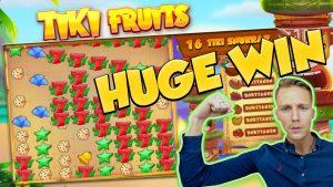 BIG WIN !!! TIKI FRUITS BIG WIN - Огромна победа - Казино игри (Онлайн слотове)
