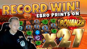 RECORD WIN!!! Bonanza BIG WIN – Casinodaddy HUGE WIN on Casino Game