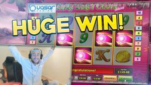 ビッグウィン!!!! ラッキーレディースチャームビッグウィン - カジノ -  Huge Win(Online Casino)