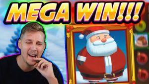 """MEGA LAIMĖ !!! FAT SANTA BIG WIN - Kazino žaidimas iš """"CasinoDaddy Live Stream"""""""