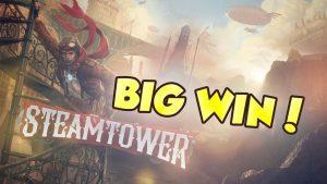 BIG WIN!!!! Steam Tower Big win – Casino – Bonus Round (Casino Slots)