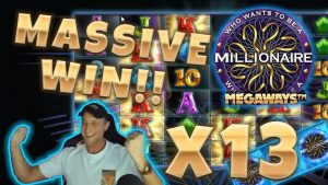 Who wants to be a Millionaire BIG WIN – Huge win on Casino Games – (Online Casino)