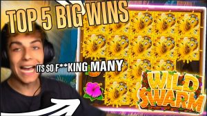 The Wild Swarm top 5 BIG WINS – Record win 36.000 € on slot