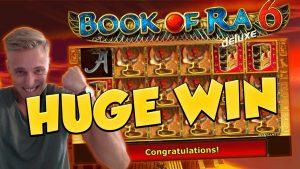 BIG WIN!!! Book of ra 6 Huge Win – Casino Games – Slots (free spins)